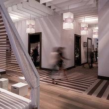 Фото из портфолио Негорючие потолки офисные потолки – фотографии дизайна интерьеров на INMYROOM