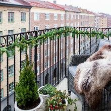 Фотография: Балкон в стиле Скандинавский,  – фото на InMyRoom.ru
