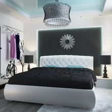 Фото из портфолио Спальня в современном стиле – фотографии дизайна интерьеров на InMyRoom.ru