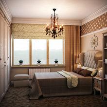 Фотография: Спальня в стиле Кантри, Классический, Квартира, Проект недели – фото на InMyRoom.ru