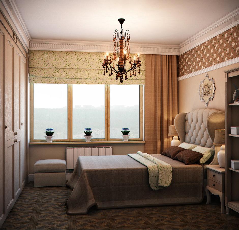 Фотография: Спальня в стиле Прованс и Кантри, Классический, Квартира, Проект недели – фото на InMyRoom.ru