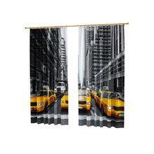 Дизайнерские фотошторы: Такси Нью Йорка