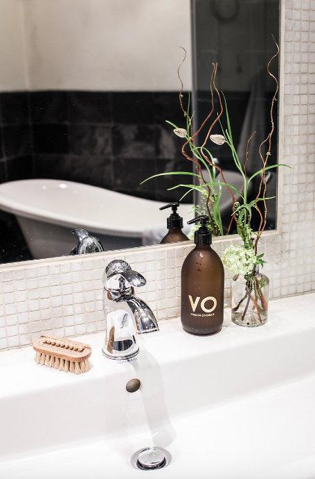 Фотография: Ванная в стиле Скандинавский, Декор интерьера, Квартира, Швеция, 3 комнаты – фото на InMyRoom.ru