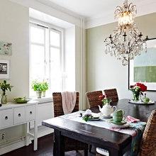 Фотография: Кухня и столовая в стиле Кантри, Классический, Современный – фото на InMyRoom.ru