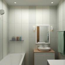 Фото из портфолио Двухкомнатная квартира 59.88 – фотографии дизайна интерьеров на INMYROOM
