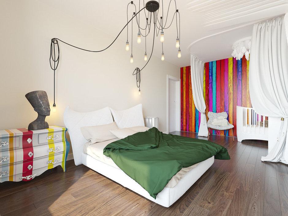 Фотография: Спальня в стиле Эклектика, Квартира, Дома и квартиры, IKEA, Проект недели – фото на InMyRoom.ru