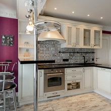 Фото из портфолио Кухня на Кавалерийской – фотографии дизайна интерьеров на INMYROOM
