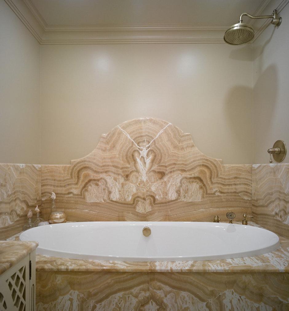 Фотография: Ванная в стиле Современный, Классический, Эклектика, Квартира, Текстиль, Дома и квартиры – фото на InMyRoom.ru