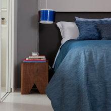 Фотография: Спальня в стиле Минимализм, Эклектика, Квартира, Дома и квартиры, Бразилия – фото на InMyRoom.ru