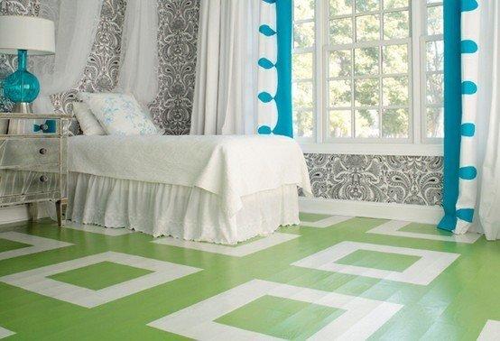 Фотография: Спальня в стиле Эклектика, Декор интерьера, Декор дома, Пол – фото на InMyRoom.ru