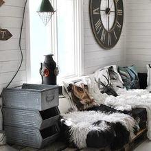 Фотография: Гостиная в стиле Лофт, Дизайн интерьера, Декор, Индустриальный – фото на InMyRoom.ru
