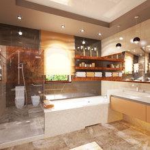 Фото из портфолио Дизайн интерьера дома,  Ялта – фотографии дизайна интерьеров на InMyRoom.ru