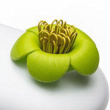 Пенал-шкатулка blossom белый/зеленый