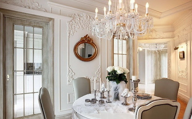 Фотография: Кухня и столовая в стиле Классический, Декор интерьера, Декор, Советы, Александр Гликман, дворцовый стиль в интерьере, как оформить интерьер в дворцовом стиле – фото на InMyRoom.ru