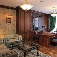 Фото из портфолио Кабинет. В классическом, английском стиле – фотографии дизайна интерьеров на InMyRoom.ru