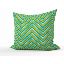 Декоративная подушка: Цвет малахита