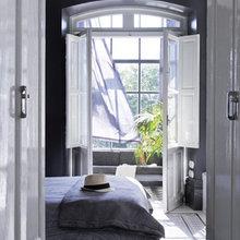 Фотография: Спальня в стиле Современный, Дом, Испания, Цвет в интерьере, Дома и квартиры, Белый – фото на InMyRoom.ru