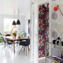 Фото из портфолио Яркие цветы и принты в интерьере – фотографии дизайна интерьеров на INMYROOM
