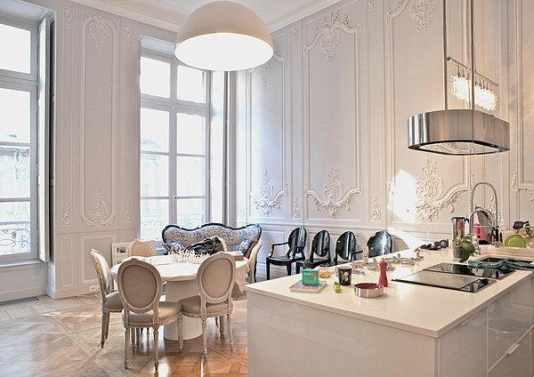 Фотография: Кухня и столовая в стиле , Декор интерьера, Дом, Мебель и свет – фото на InMyRoom.ru