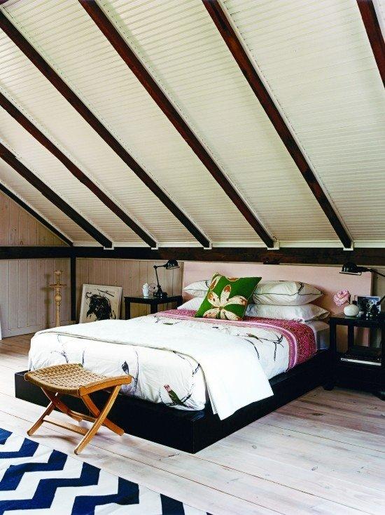 Фотография: Спальня в стиле Восточный, Дом, Чердак, Мансарда – фото на InMyRoom.ru