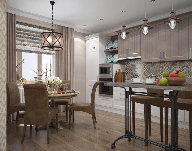 Фотография: Кухня и столовая в стиле Восточный,  – фото на INMYROOM