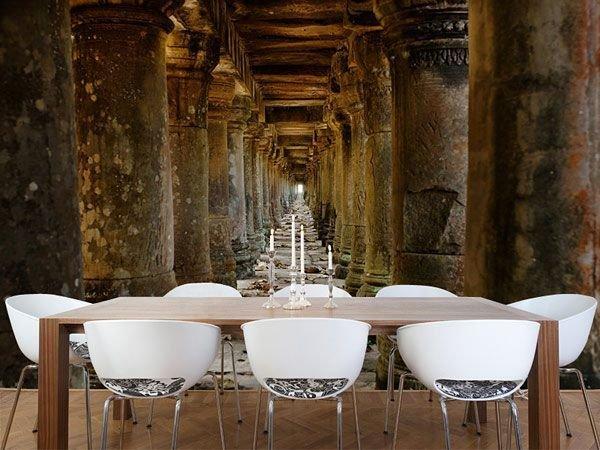 Фотография: Кухня и столовая в стиле Эклектика, Малогабаритная квартира, Интерьер комнат, Советы, Зеркала – фото на InMyRoom.ru