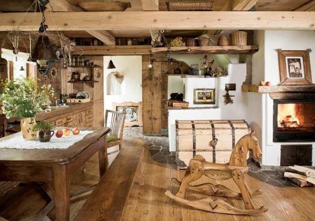 Фотография: Кухня и столовая в стиле , Дом, Дома и квартиры, Дача – фото на InMyRoom.ru