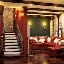 Фото из портфолио Квартира в Английском стиле – фотографии дизайна интерьеров на INMYROOM