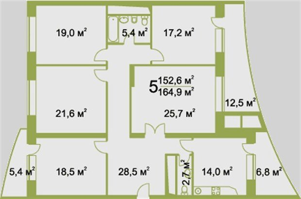 Помогите с дизайном интерьера 5-ти комнатной квартиры
