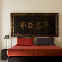 Фотография: Спальня в стиле Восточный, Минимализм, Дома и квартиры, Городские места, Отель, Бассейн – фото на InMyRoom.ru