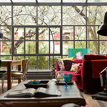 Фотография: Гостиная в стиле Лофт, Квартира, Дома и квартиры, Париж – фото на InMyRoom.ru