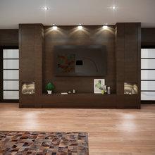 Фото из портфолио Дом для холостяка – фотографии дизайна интерьеров на INMYROOM