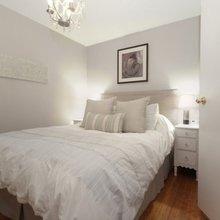 Фотография: Спальня в стиле Кантри, Скандинавский, Декор интерьера, Мебель и свет – фото на InMyRoom.ru