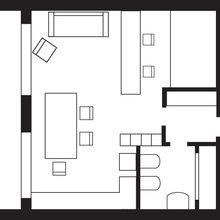 Фотография: Планировки в стиле , Декор интерьера, Малогабаритная квартира, Квартира, Дома и квартиры – фото на InMyRoom.ru