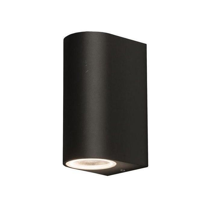 Уличный настенный светильник Nico черного цвета