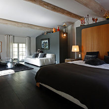 Фотография: Спальня в стиле Современный, Минимализм, Дом, Франция, Дома и квартиры, Прованс – фото на InMyRoom.ru