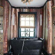 Фотография: Ванная в стиле Кантри, Индустрия, Люди, Посуда, Ретро – фото на InMyRoom.ru