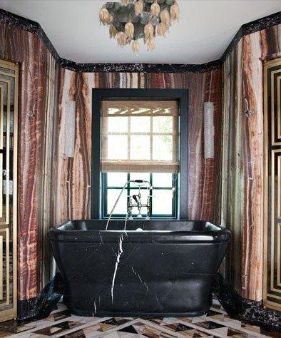 Фотография: Ванная в стиле Прованс и Кантри, Индустрия, Люди, Посуда, Ретро – фото на InMyRoom.ru