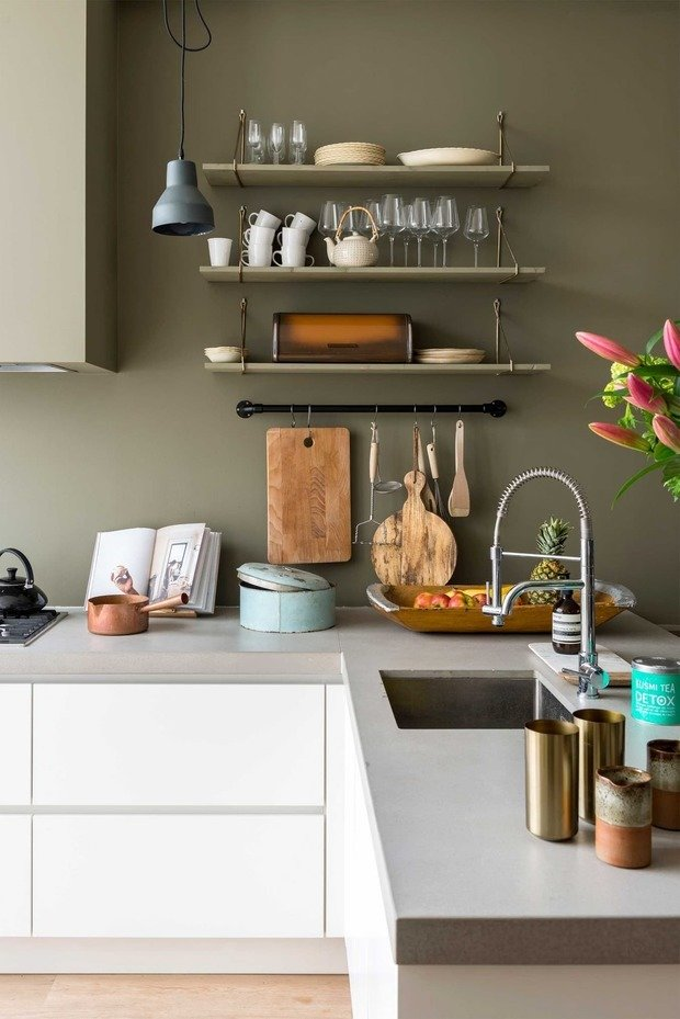 Фотография: Кухня и столовая в стиле Эко, Декор интерьера, Цвет в интерьере, pantone, цветовая гамма интерьера – фото на INMYROOM