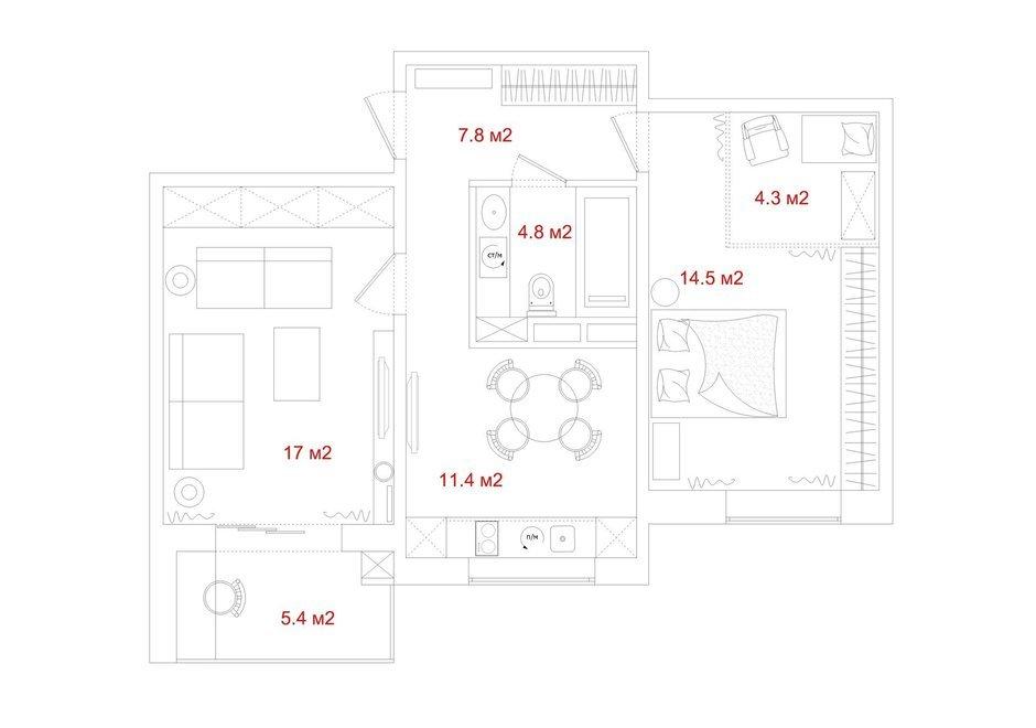 Фотография: Прочее в стиле , Эклектика, Квартира, Дома и квартиры, IKEA, Проект недели – фото на InMyRoom.ru