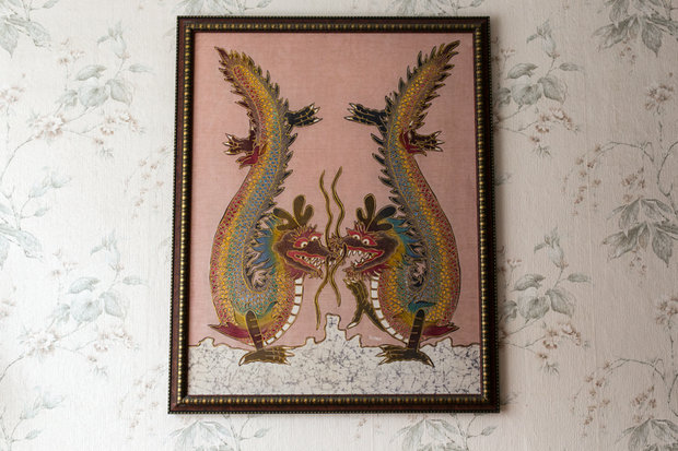 Картина батик в раме