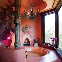 Фотография: Ванная в стиле Кантри, Классический, Современный, Восточный, Дома и квартиры, Интерьеры звезд – фото на InMyRoom.ru