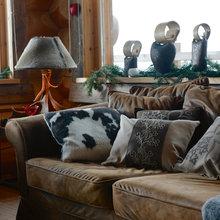 Фотография: Мебель и свет в стиле Кантри, Эклектика, Кухня и столовая, Дизайн интерьера – фото на InMyRoom.ru