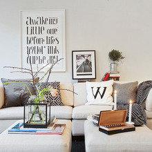 Фотография: Гостиная в стиле Скандинавский, Дизайн интерьера – фото на InMyRoom.ru