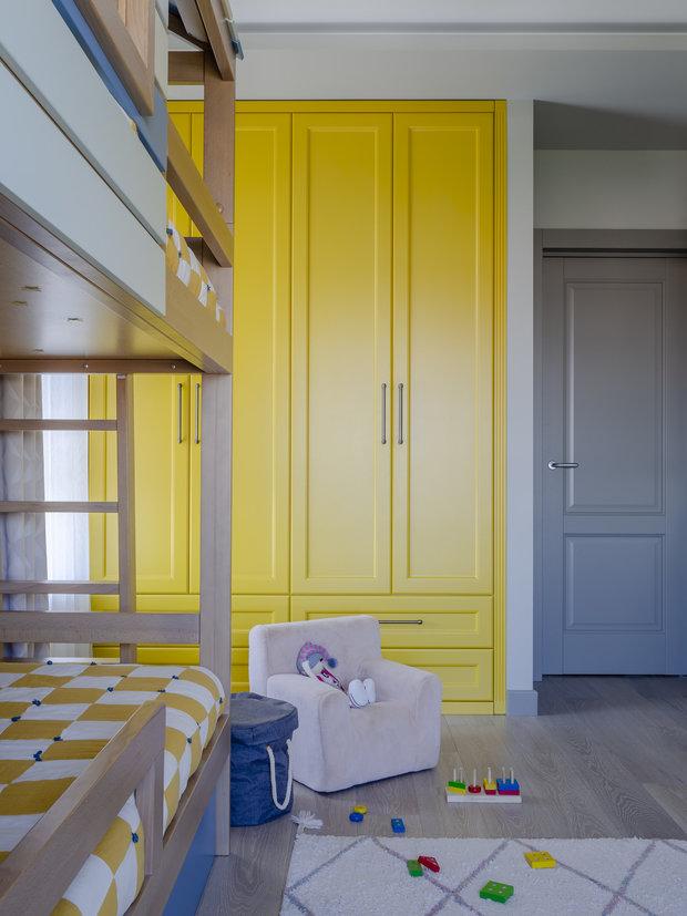 Фотография: Детская в стиле Современный, Квартира, Проект недели, Москва, 3 комнаты, 60-90 метров, Bilbao Design – фото на INMYROOM