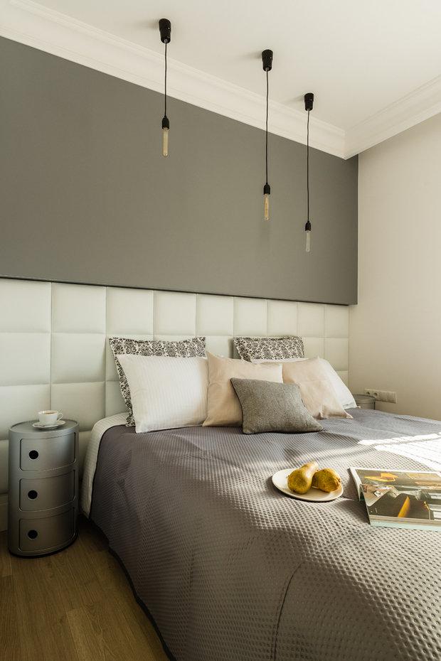 Фотография: Спальня в стиле Современный, Декор интерьера, Малогабаритная квартира, Польша – фото на InMyRoom.ru