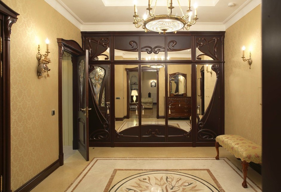 Фотография: Прихожая в стиле Классический, Современный, Квартира, Дома и квартиры, Модерн, Ар-нуво – фото на InMyRoom.ru
