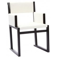 Кресло Solo с обивкой из экокожи