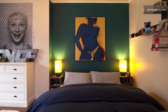 Фотография: Спальня в стиле , Декор интерьера, Малогабаритная квартира, Квартира, Дома и квартиры, Airbnb – фото на InMyRoom.ru