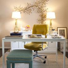 Фотография: Кабинет в стиле Классический, Современный, Интерьер комнат – фото на InMyRoom.ru